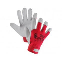 Pracovní rukavice Technik kombinované - velikost 10 - XL