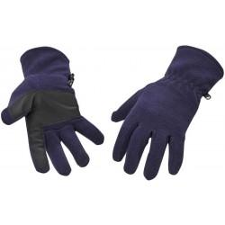 Pracovní Fleecové rukavice Portwest , tmavě modré, velikost 9