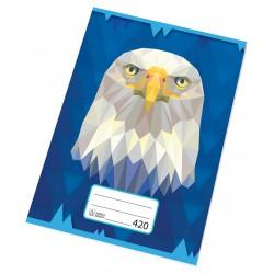 Sešit školní 420 Premium A4 čistý, 20 listů