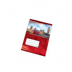 Notýsek - Sešit školní 644 Premium A6 linkovaný, 40 listů