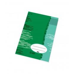 Sešit školní 525 Economy A5 čtverečkovaný, 20 listů