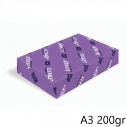 Papír Image Digicolor, formát A3, 200gr - 250 listů, A+