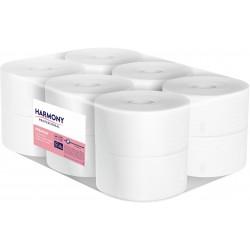 Harmony Professional toaletní papír Jumbo průměr 190, 2 vrstvý bílý