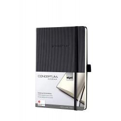 Sigel CONCEPTUM Notebook, A5, záznamní kniha čistá, 194 listů
