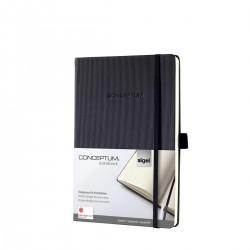 Sigel CONCEPTUM Notebook, A5, záznamní kniha čtvereček, 194 listů