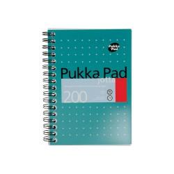 Spirálový Blok Pukka Pad A6, Metallic, linka, 100 listů