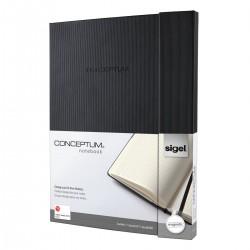 Sigel CONCEPTUM Notebook, A4+, záznamní kniha čtverečkovaná, 194 listů