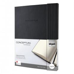 Sigel CONCEPTUM Notebook, záznamní kniha linkovaná, 194 listů, formát A4+