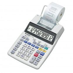 Kalkulačka SHARP EL-1750V, stolní kalkulátor s tiskem 12-ti místný displej