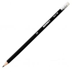 KORES Grafitos, trojhranná tužka s gumou, tvrdost HB