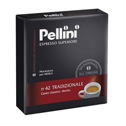 "Káva mletá, pražená, 2x250 g, PELLINI ""Tradizionale"""