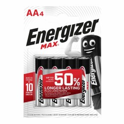 "ENERGIZER ""Max"", Baterie tužkové AA LR6, blistr 4ks"