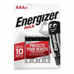 "ENERGIZER ""Max"", Baterie mikrotužkové AAA LR6, blistr 4ks"