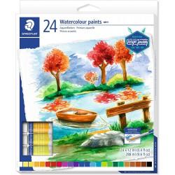 """STAEDTLER Akvarelové barvy v tubě """"Design Journey"""", sada 24 barev"""