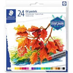 """STAEDTLER Olejové pastely """"Design Journey"""", sada, 24 barev"""