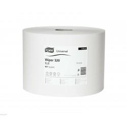 Tork Basic 129237, utěrka dvouvrstvá bílá, návin 510m, W1