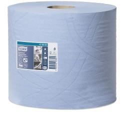Tork Heavy-Duty 130081 průmyslová papírová utěrka modrá, 350 útržků