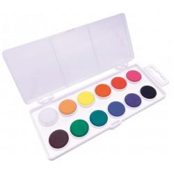 KOH-I-NOOR 171510, barvy vodové průměr 22,5 mm, 12 barev