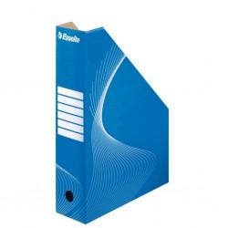 Esselte 10025, archivační stojan na časopisy modrý, 80 mm