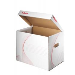 Esselte 128911, archivační kontejner s víkem, bílá
