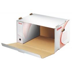 Esselte 128910, archivační kontejner s předním otevíráním, bílá