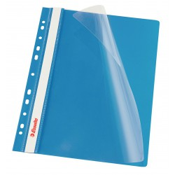 copy of Rychlovazač Esselte A4 Závěsný PP Euroděrování, přední strana průhledná, modrá