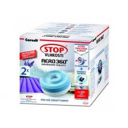 Ceresit Stop Vlhkosti AERO 360°, tablety do pohlcovače vlhkosti, 2 x 450g, levandule