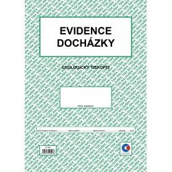 Baloušek ET407,  Evidence docházky A4