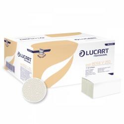 Lucart Easy Beige V 250,  jednovrstvé papírové ručníky skládané, béžové, 5000 ks