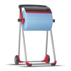 Tork 652008, Floor stand stojan na podlahu mobilní, červená/černá, W1