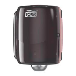 Tork 653008, Maxi zásobník na role se středovým odvíjením Červená/Černá, W2