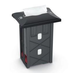 Tork Xpressnap 272701, zásobník na ubrousky zabudovaný v pultu černý, N4