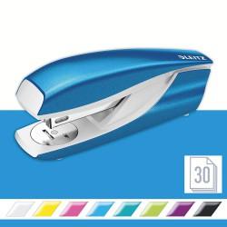 Celokovová stolní sešívačka Leitz NeXXt WOW 5502, metalická modrá