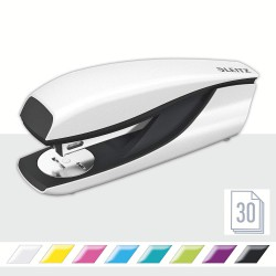 Celokovová stolní sešívačka Leitz NeXXt WOW 5502, perleťová bílá