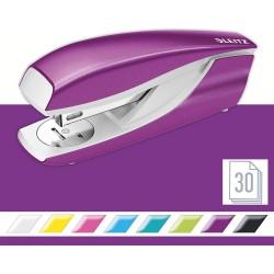 Celokovová stolní sešívačka Leitz NeXXt WOW 5502, metalická fialová