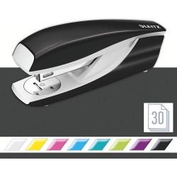 Celokovová stolní sešívačka Leitz New NeXXt WOW 5502, metalická černá
