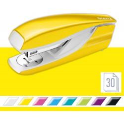Celokovová stolní sešívačka Leitz New NeXXt WOW 5502, metalická žlutá