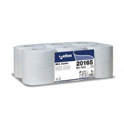 Celtex Mini Jumbo 20165, toaletní papíry 2 vrstvé průměr 19 cm, 100% celuloza