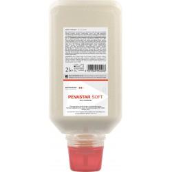 PEVASTAR SOFT čisticí pasta na citlivé ruce s přírodním abrazivem , láhev 2 litry