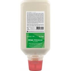 PEVA PREMIUM prémiová čisticí pasta na ruce s přírodním abrazivem , láhev 2 litry