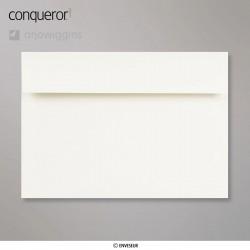 Conqueror Laid Oyster, žebrovaná světle béžová obálka, formát C5, 250 ks