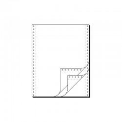 """Tabelační papír  21 x 12"""" (1+2) 750 listů, boční perforace NCR"""