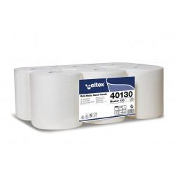 Celtex Master Autocut, 2 vrstvé bílé papírové ručníky na roli, návin 130 m