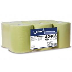 Celtex Master Autocut, 2 vrstvé zelené papírové ručníky na roli, návin 130 m