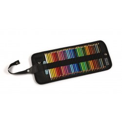 KOH-I-NOOR 3825, souprava uměleckých pastelek Polycolor, 36 barev v rolovacím penálu