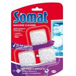 SOMAT čistič myčky, 3 tablety