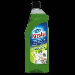 KRYSTAL, mycí prostředek na nádobí lemongrass, obsah 750 ml
