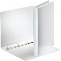Prezentační 4 - kroužkový pořadač Esselte A4, bílá, průhledná kapsa