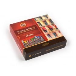 KOH-I-NOOR 8516 Souprava kříd prašných uměleckých, 48 barev