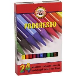 KOH-I-NOOR 8758, souprava tužek pastelových v laku Progresso, 24 barev